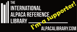We support the International Alpaca Reference Library!